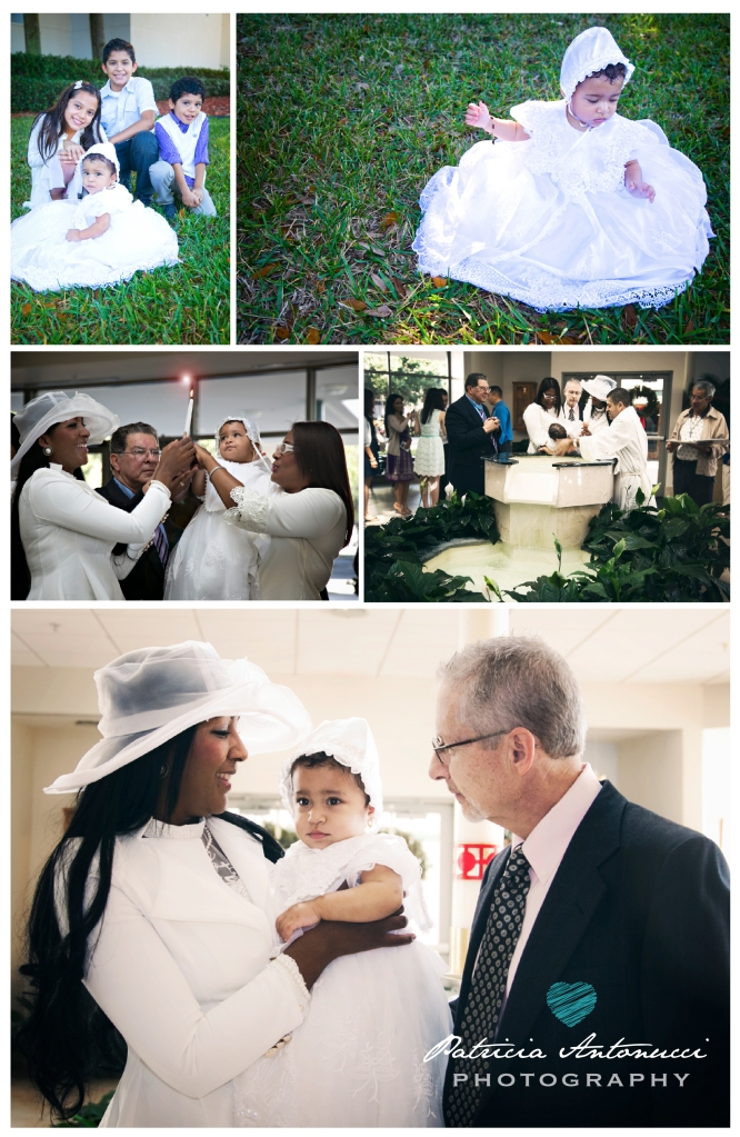 Alexandra's Baptism
